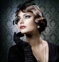 クラシカルファッションでお嬢様風。レトロモダンな上品